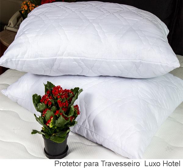Protetor para travesseiro luxo hotel
